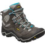 Keen Women's Durand Mid Wp Hiking Boots, Gargoyle – Black