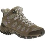 Merrell Womens Ridgepass Mid Wp Hiking Boots – Brown