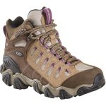 Oboz Women's Sawtooth Mid Bdry Hiking Boots – Purple