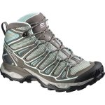 Salomon Women's X Ultra Mid Aero Hiking Boots – Black