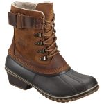 Sorel Women's Winter Fancy Lace Ii Winter Boots, Elk – Brown