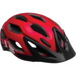 Bell Indy Bike Helmet, Matte Red – Red