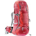 Deuter Women's Futura Vario Pro 45+10 Sl Backpack – Red
