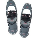 MSR Womens Lightning Ascent 22 Snowshoes, Gunmetal  – Black