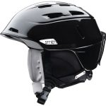 Smith Women's Compass Snow Helmet, Metallic Black – Black