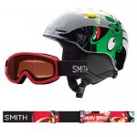 Smith Kids Zoom Helmet-Sidekick Goggles Combo – Black