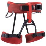 Black Diamond Wiz Kid Climbing Harness, Deep Torch – Red