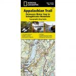 National Geographic Appalachian Trail, Delaware Water Gap To Schaghticoke Mountain Topographic