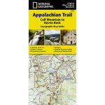 National Geographic Appalachian Trail, Calf Mountain To Raven Rock Topographic Map Guide