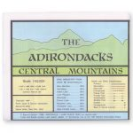 Adk Central Mountains Map