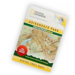 Nat Geo Adirondack Park 3D Map Cds