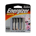 Energizer Aaa Batteries, 4-Pack