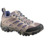 Merrell Women's Moab Ventilator Hiking Shoes, Aluminum/marlin – Black