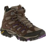 Merrell Womens Moab Ventilator Mid Hiking Boots – Brown