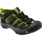 Keen Youth Newport H2 Sandals, Black/lime Green – Black