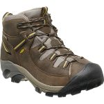 Keen Men's Targhee Ii Mid Wp Hiking Boots, Black Olive/yellow – Black