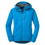 Outdoor Research Womens Uberlayer Hooded Jacket – Blue