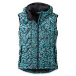 Outdoor Research Womens Aria Print Vest – Blue