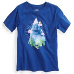 Ems Kids Born To Climb Graphic Tee – Blue – Size M