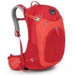 Osprey Women's Mira Ag 18 Pack, Cherry Red – Red