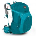 Osprey Womens Mira Ag 34 Backpack, Bondi Blue – Blue