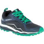 Merrell Mens All Out Crush Trail Running Shoes, Navy – Blue