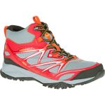 Merrell Mens Capra Bolt Mid Waterproof Hiking Boots, Bright Red – Red