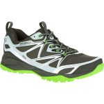 Merrell Mens Capra Bolt Waterproof Trail Shoes, Black/silver – Black