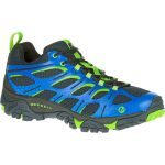 Merrell Mens Moab Edge Shoes, Navy – Blue