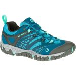 Merrell Womens All Out Blaze Ventilator Hiking Shoes, Turquoise/aqua – Blue
