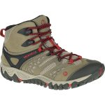 Merrell Womens All Out Blaze Ventilator Mid Waterproof Hiking Boots, Brown – Brown