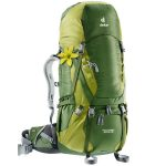 Deuter Womens Aircontact 50+10 Sl Pack – Green