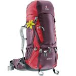 Deuter Womens Aircontact 60+10 Sl Pack – Purple