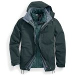 Ems Mens Freescape 4-In-1 Jacket – Green