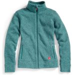 Ems Womens Roundtrip Full-Zip Jacket – Green – Size XS