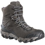 Oboz Mens 8 In. Bridger Insulated Bdry Hiking Boots – Black