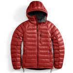 Ems Mens Feather Pack Hooded Jacket – Red