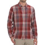 Ems Mens Timber Flannel Shirt – Brown – Size S