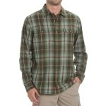 Ems Mens Timber Flannel Shirt – Green – Size S