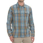 Ems Mens Timber Flannel Shirt – Blue – Size M