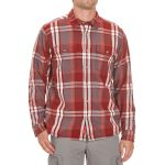 Ems Mens Timber Lined Flannel Shirt – Brown – Size XL