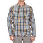 Ems Mens Timber Lined Flannel Shirt – Blue – Size M