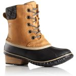 Sorel Womens Slimpack Ii Lace Boots, Elk – Brown