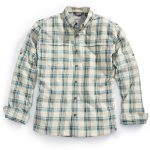Ems Mens Journey Plaid Long-Sleeve Shirt – Green – Size XXL