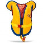 MTI Kids PFD With Collar – Yellow