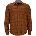 Marmot Mens Fairfax Flannel Shirt – Brown – Size L