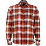Marmot Mens Fairfax Flannel Shirt – Red – Size S