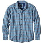 Prana Mens Alabaster Flannel Long-Sleeve Shirt – Blue – Size XL