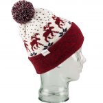 Coal Lodge Pom Beanie  – Red