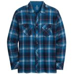 Kuhl Mens Lowdown Long-Sleeve Shirt – Blue – Size XL